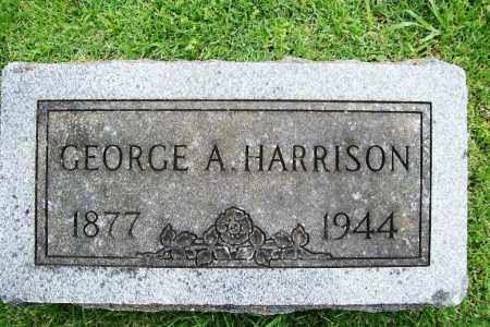 HARRISON, GEORGE A. - Benton County, Arkansas | GEORGE A. HARRISON - Arkansas Gravestone Photos