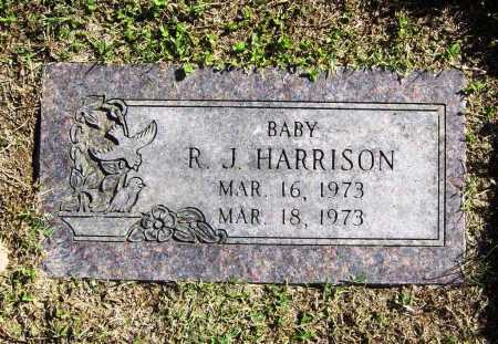 HARRISON, R. J. - Benton County, Arkansas   R. J. HARRISON - Arkansas Gravestone Photos