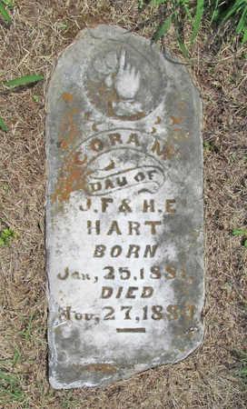 HART, CORA M - Benton County, Arkansas   CORA M HART - Arkansas Gravestone Photos
