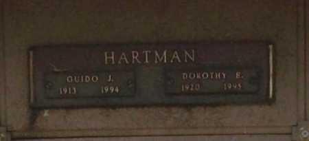 HARTMAN, DOROTHY E. - Benton County, Arkansas | DOROTHY E. HARTMAN - Arkansas Gravestone Photos
