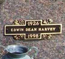HARVEY, EDWIN DEAN - Benton County, Arkansas | EDWIN DEAN HARVEY - Arkansas Gravestone Photos