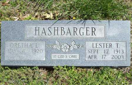 HASHBARGER, LESTER T. - Benton County, Arkansas | LESTER T. HASHBARGER - Arkansas Gravestone Photos