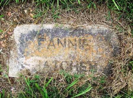 HATCHER, FANNIE - Benton County, Arkansas | FANNIE HATCHER - Arkansas Gravestone Photos