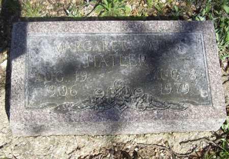 YATES HATLER, MARGARET - Benton County, Arkansas | MARGARET YATES HATLER - Arkansas Gravestone Photos