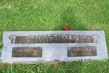 HAVERMALE, ARTHUR F. - Benton County, Arkansas   ARTHUR F. HAVERMALE - Arkansas Gravestone Photos