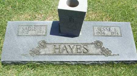 HAYES, JESSE E. - Benton County, Arkansas   JESSE E. HAYES - Arkansas Gravestone Photos