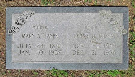 QUEEN, LEONA D - Benton County, Arkansas | LEONA D QUEEN - Arkansas Gravestone Photos