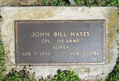 HAYES (VETERAN KOR), JOHN BILL - Benton County, Arkansas   JOHN BILL HAYES (VETERAN KOR) - Arkansas Gravestone Photos
