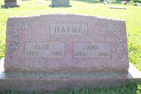 HAYRE, JOHN - Benton County, Arkansas | JOHN HAYRE - Arkansas Gravestone Photos