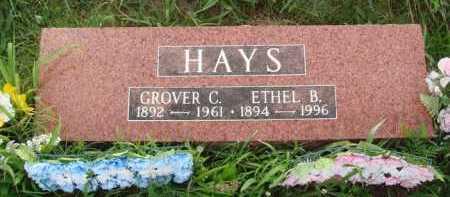 HAYS, ETHEL B. - Benton County, Arkansas | ETHEL B. HAYS - Arkansas Gravestone Photos