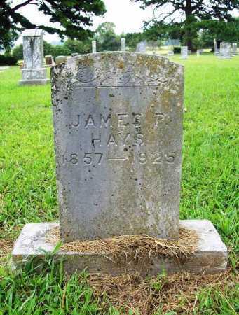 "HAYS, JAMES P ""BUCK"" - Benton County, Arkansas | JAMES P ""BUCK"" HAYS - Arkansas Gravestone Photos"