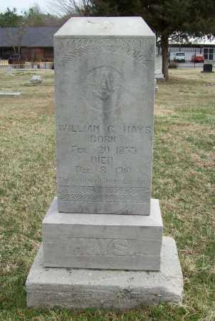 HAYS, WILLIAM G. - Benton County, Arkansas   WILLIAM G. HAYS - Arkansas Gravestone Photos