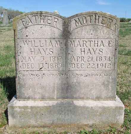 HAYS, WILLIAM - Benton County, Arkansas | WILLIAM HAYS - Arkansas Gravestone Photos