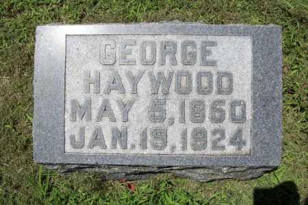 HAYWOOD, GEORGE - Benton County, Arkansas   GEORGE HAYWOOD - Arkansas Gravestone Photos