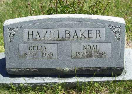 HAZELBAKER, NOAH - Benton County, Arkansas | NOAH HAZELBAKER - Arkansas Gravestone Photos