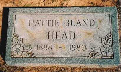 HEAD, HATTIE - Benton County, Arkansas | HATTIE HEAD - Arkansas Gravestone Photos