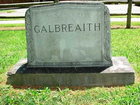 GALBREAITH HEADSTONE,  - Benton County, Arkansas    GALBREAITH HEADSTONE - Arkansas Gravestone Photos