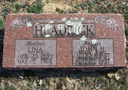 HEADRICK, JOHN H. - Benton County, Arkansas | JOHN H. HEADRICK - Arkansas Gravestone Photos