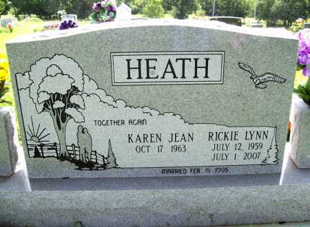 HEATH, RICKIE LYNN - Benton County, Arkansas   RICKIE LYNN HEATH - Arkansas Gravestone Photos