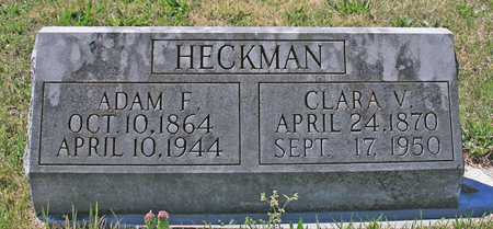HECKMAN, ADAM F - Benton County, Arkansas | ADAM F HECKMAN - Arkansas Gravestone Photos