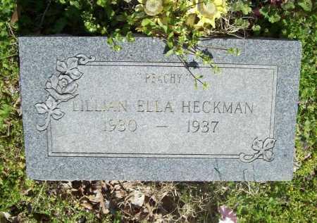 HECKMAN, LILLIAN ELLA - Benton County, Arkansas | LILLIAN ELLA HECKMAN - Arkansas Gravestone Photos