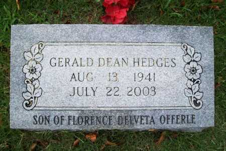 HEDGES, GERALD DEAN - Benton County, Arkansas   GERALD DEAN HEDGES - Arkansas Gravestone Photos