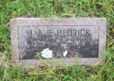 HEDRICK, MABLE - Benton County, Arkansas   MABLE HEDRICK - Arkansas Gravestone Photos