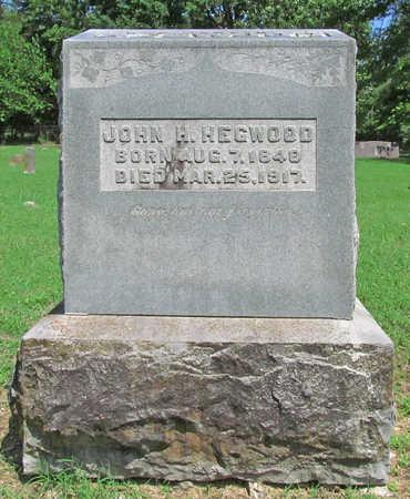 HEGWOOD (VETERAN CSA), JOHN H - Benton County, Arkansas   JOHN H HEGWOOD (VETERAN CSA) - Arkansas Gravestone Photos