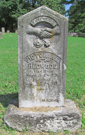 HEGWOOD, VICTORINE - Benton County, Arkansas   VICTORINE HEGWOOD - Arkansas Gravestone Photos