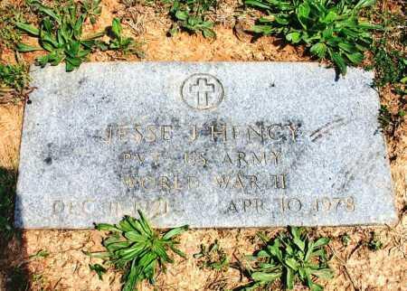 HENCY (VETERAN WWII), JESSE J - Benton County, Arkansas | JESSE J HENCY (VETERAN WWII) - Arkansas Gravestone Photos