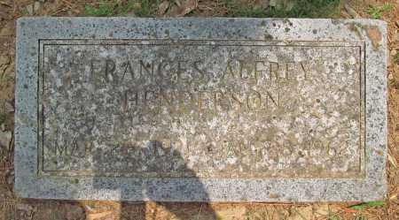 ALFREY HENDERSON, FRANCES - Benton County, Arkansas | FRANCES ALFREY HENDERSON - Arkansas Gravestone Photos