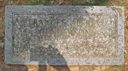 ALFREY HENDERSON, FRANCES - Benton County, Arkansas   FRANCES ALFREY HENDERSON - Arkansas Gravestone Photos