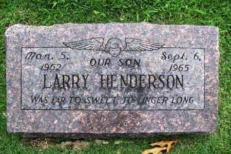HENDERSON, LARRY - Benton County, Arkansas   LARRY HENDERSON - Arkansas Gravestone Photos