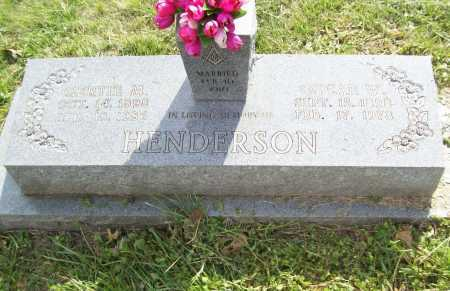 HENDERSON, GERTIE M. - Benton County, Arkansas | GERTIE M. HENDERSON - Arkansas Gravestone Photos