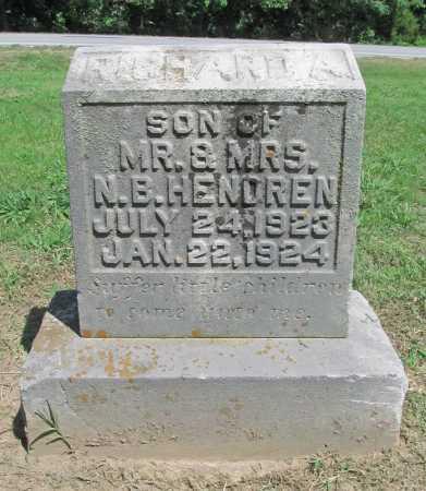 HENDREN, RICHARD A - Benton County, Arkansas   RICHARD A HENDREN - Arkansas Gravestone Photos
