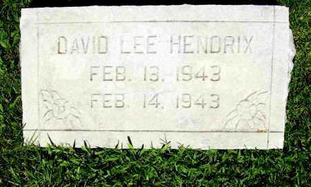 HENDRIX, DAVID LEE - Benton County, Arkansas | DAVID LEE HENDRIX - Arkansas Gravestone Photos
