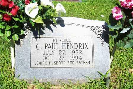 HENDRIX, G. PAUL - Benton County, Arkansas   G. PAUL HENDRIX - Arkansas Gravestone Photos