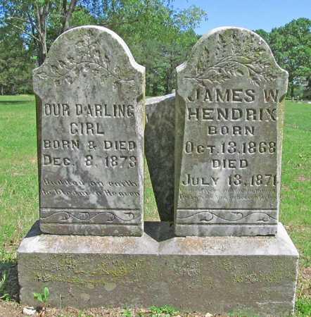 HENDRIX, BABY GIRL - Benton County, Arkansas   BABY GIRL HENDRIX - Arkansas Gravestone Photos