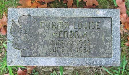 HENDRIX, NORMA LOUISE - Benton County, Arkansas   NORMA LOUISE HENDRIX - Arkansas Gravestone Photos