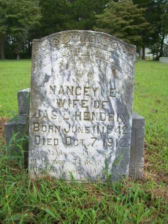 HENDRIX, NANCEY E. - Benton County, Arkansas   NANCEY E. HENDRIX - Arkansas Gravestone Photos