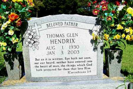 HENDRIX, THOMAS GLEN - Benton County, Arkansas | THOMAS GLEN HENDRIX - Arkansas Gravestone Photos