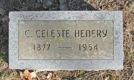 HENERY, C. CELESTE - Benton County, Arkansas   C. CELESTE HENERY - Arkansas Gravestone Photos