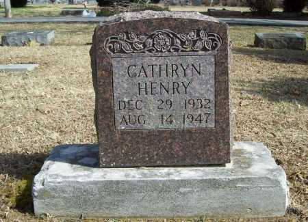 HENRY, CATHRYN - Benton County, Arkansas | CATHRYN HENRY - Arkansas Gravestone Photos