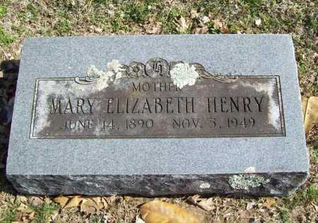HENRY, MARY ELIZABETH - Benton County, Arkansas | MARY ELIZABETH HENRY - Arkansas Gravestone Photos