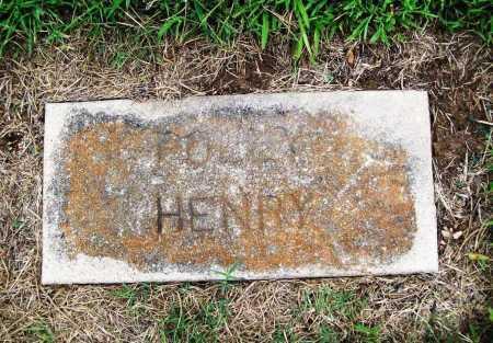 HENRY, POLLY - Benton County, Arkansas | POLLY HENRY - Arkansas Gravestone Photos