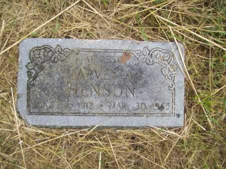 HENSON, HARVEY A. - Benton County, Arkansas | HARVEY A. HENSON - Arkansas Gravestone Photos
