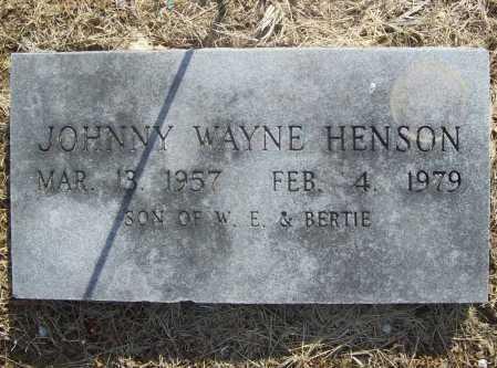 HENSON, JOHNNY WAYNE - Benton County, Arkansas | JOHNNY WAYNE HENSON - Arkansas Gravestone Photos