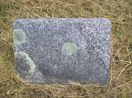 HENSON, JOHN S. - Benton County, Arkansas | JOHN S. HENSON - Arkansas Gravestone Photos