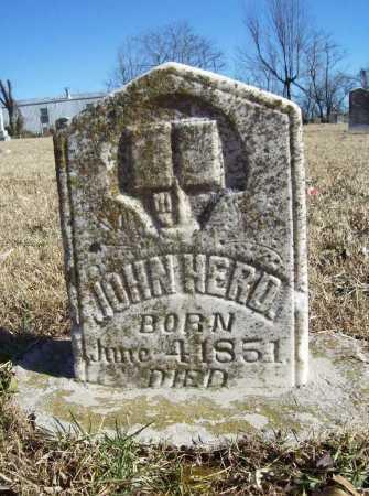 HERD, JOHN - Benton County, Arkansas | JOHN HERD - Arkansas Gravestone Photos