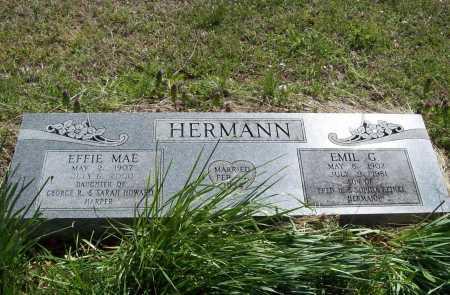 HERMANN, EMIL G. - Benton County, Arkansas | EMIL G. HERMANN - Arkansas Gravestone Photos
